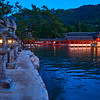 Itsukushima Shrine at Blue Hour - Miyajima, Japan