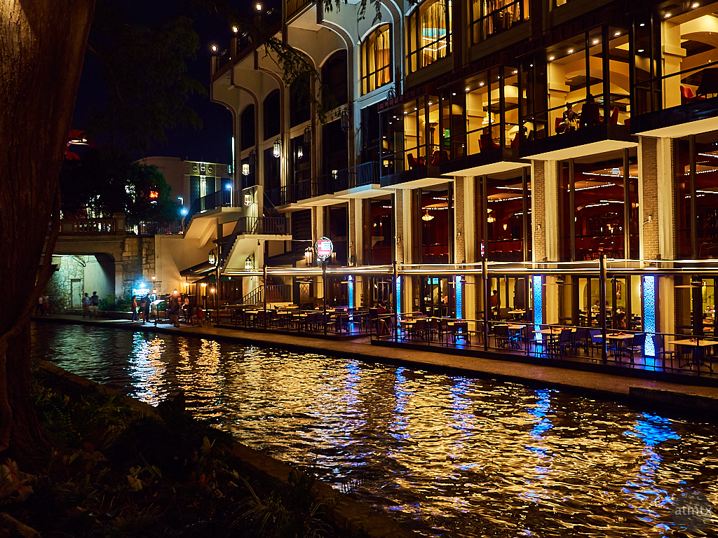 Golden River Walk - San Antonio, Texas
