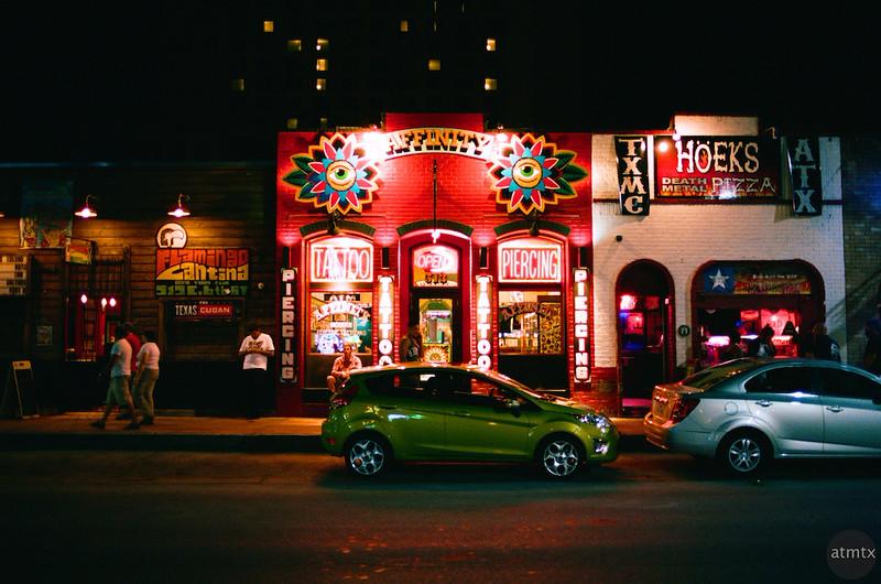 Affinity Saturation, 6th Street - Austin, Texas