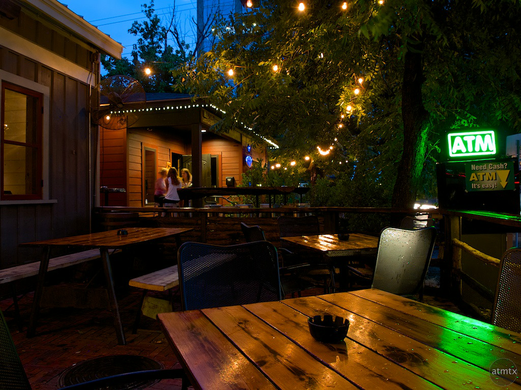 Javelina Outdoor Seating, Rainey Street - Austin, Texas
