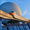 Monorail at Epcot, Disney World - Orlando, Florida