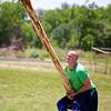 Caber Toss #2, Highland Games - Pflugerville, Texas