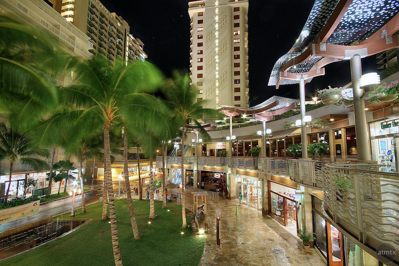Waikiki Beach Walk Stores - Honolulu, Hawaii