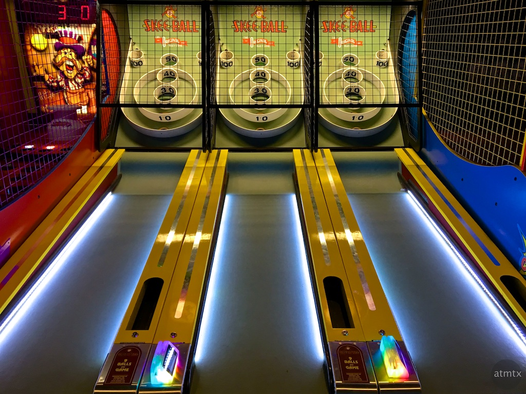 Skee Ball, High 5 - Lakeway, Texas