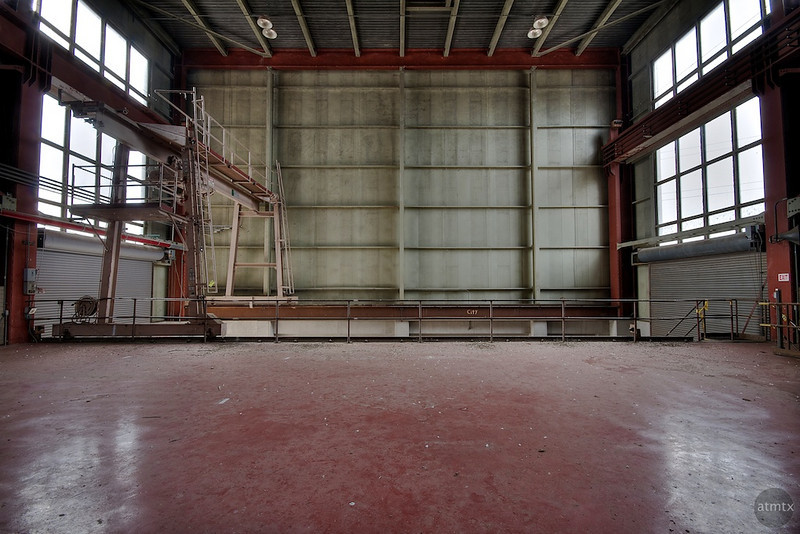 Holly Power Plant, Interior - Austin, Texas
