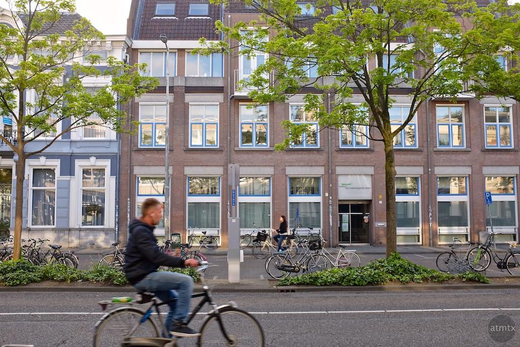Biking Downtown - Breda, Netherlands