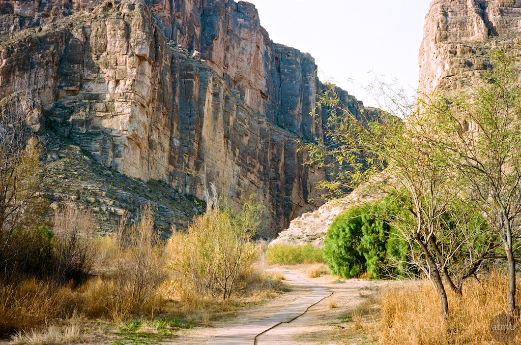 Path, Santa Elena Canyon - Big Bend National Park, Texas
