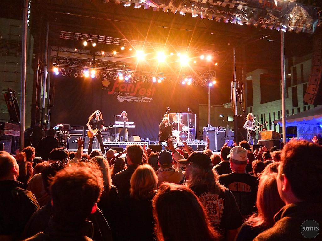 Foreigner Concert, Austin Fan Fest, Austin, Texas