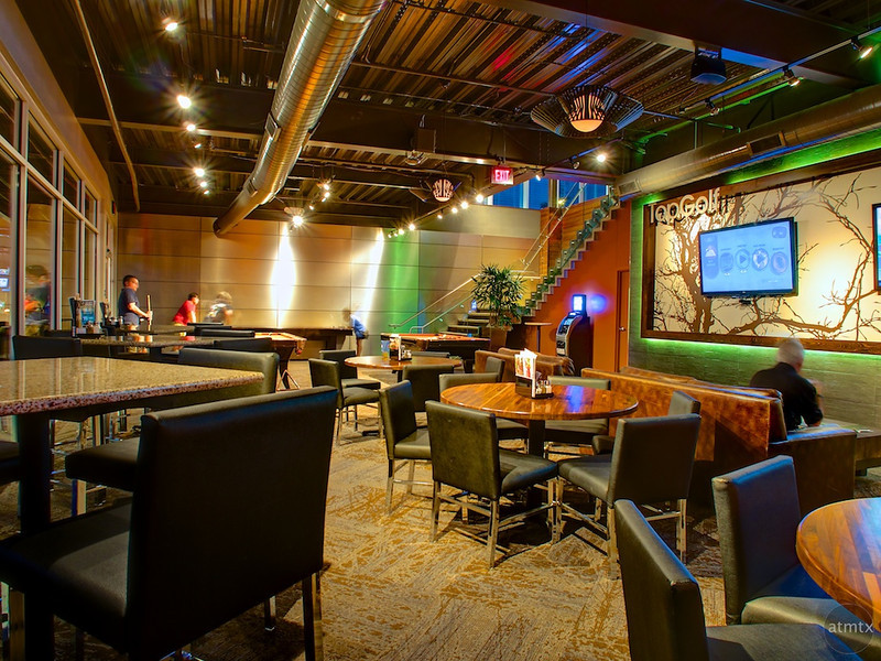 Lounge, Top Golf - Austin, Texas