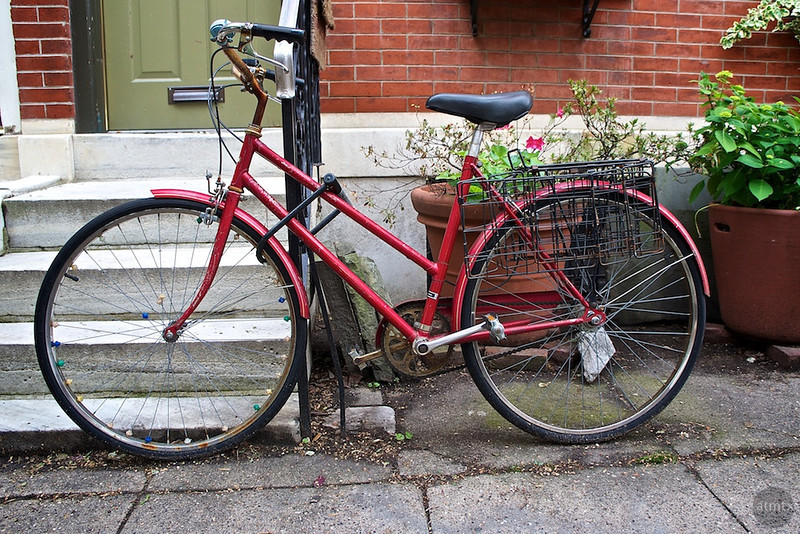 Red Bicycle, South Philadelphia - Philadelphia, Pennsylvania