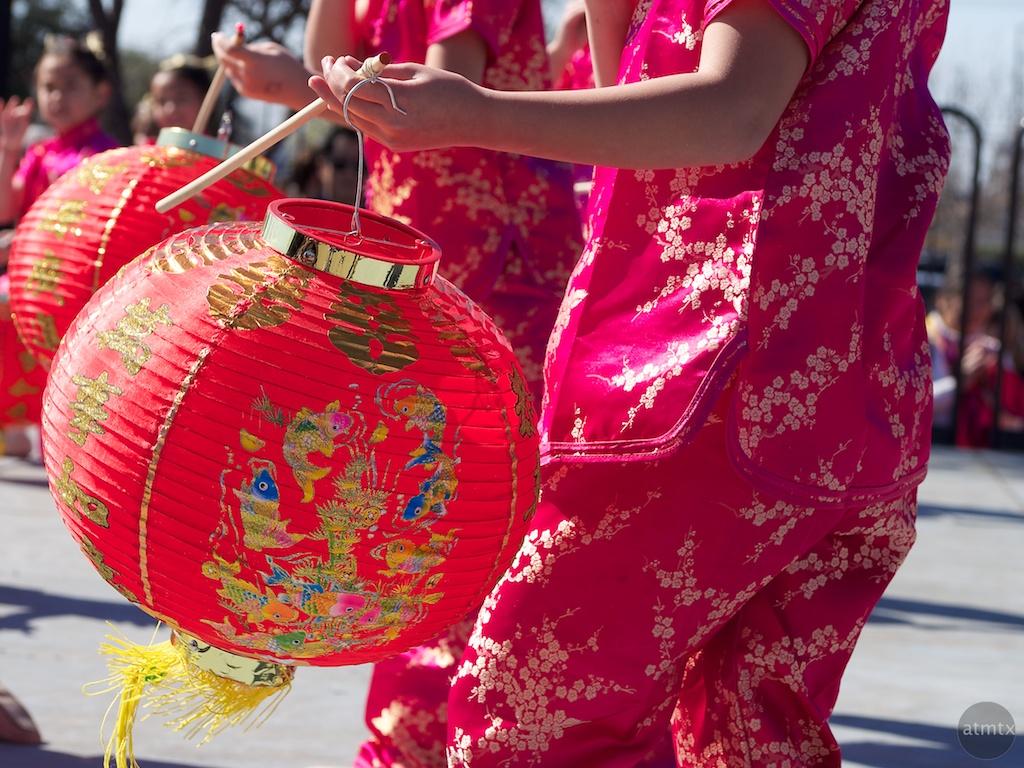 Lantern Dance, 2013 Chinese New Year Celebration - Austin, Texas