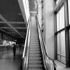 Single Escalator, Austin-Bergstrom Airport - Austin, Texas