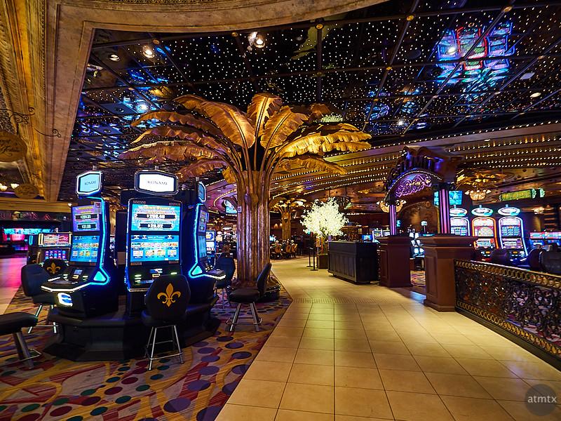 Harrah's Casino Interior - New Orleans
