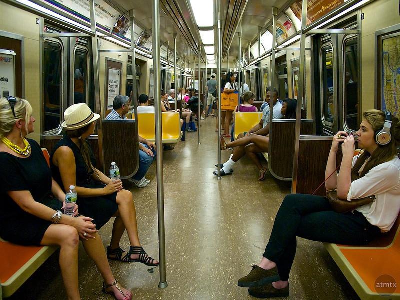 Subway Interior - New York, New York