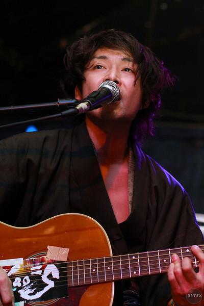 Shuji from Kao=S, SXSW Japan Nite 2012 - Austin, Texas