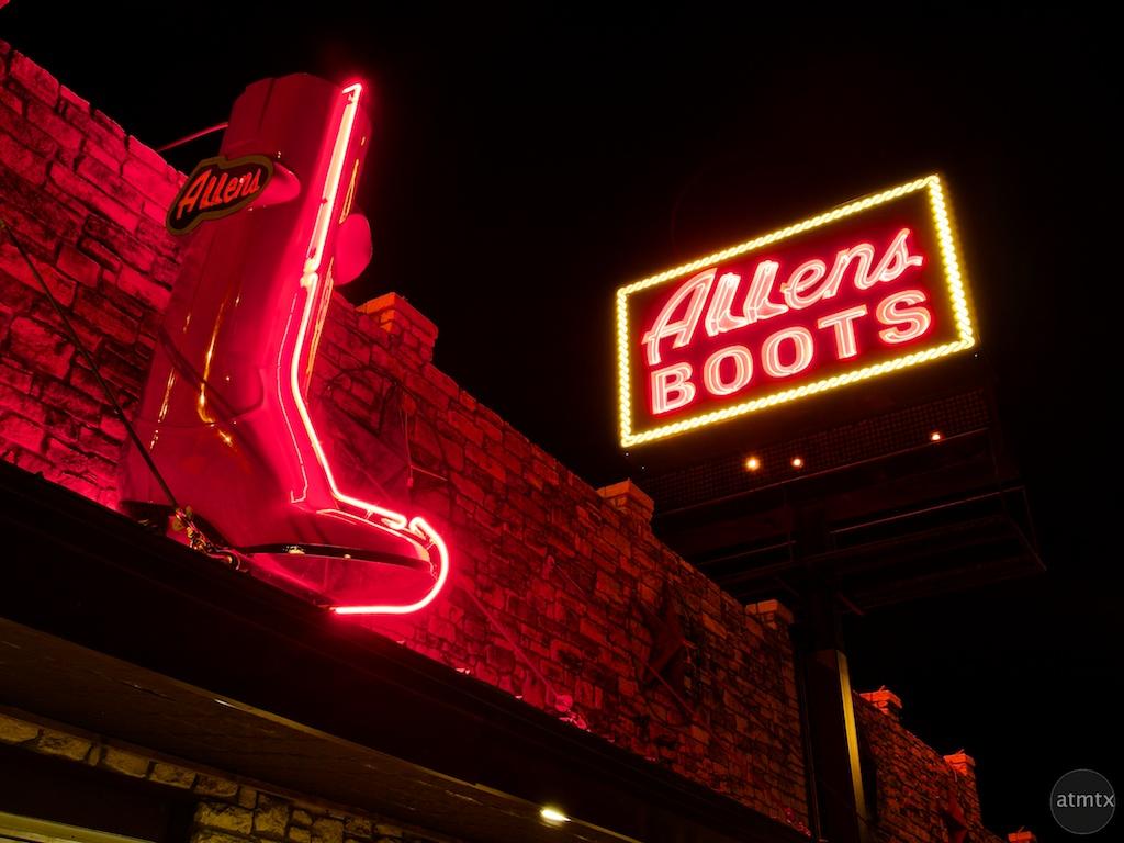 Allens Boots, SoCo - Austin, Texas