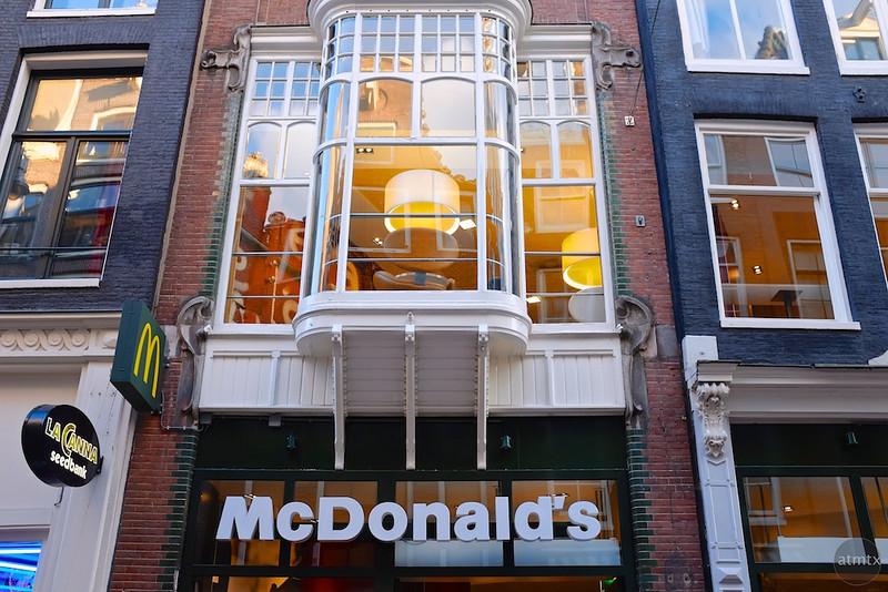 Charming McDonald's - Amsterdam, Netherlands