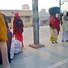 Train Station #2, Shatabdi Express Train - Between Delhi and Agra, India