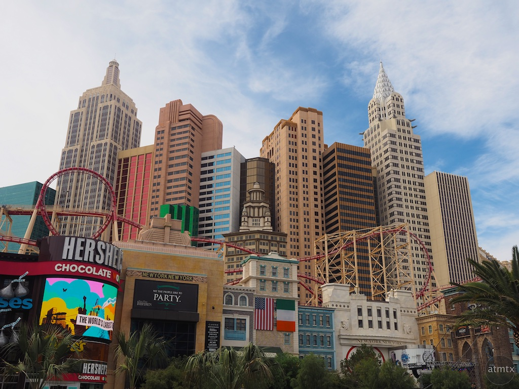 New York New York Facade - Las Vegas, Nevada