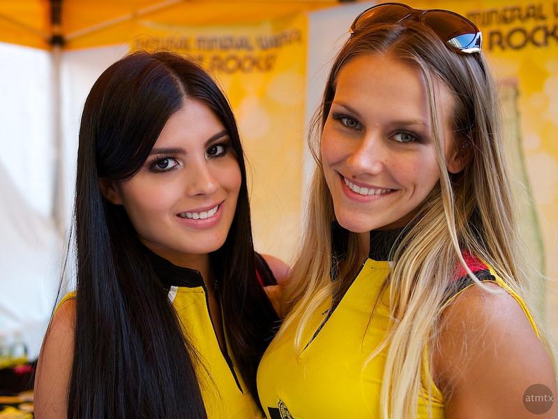 Karen and Stephanie, Austin Fan Fest 2012 - Austin, Texas