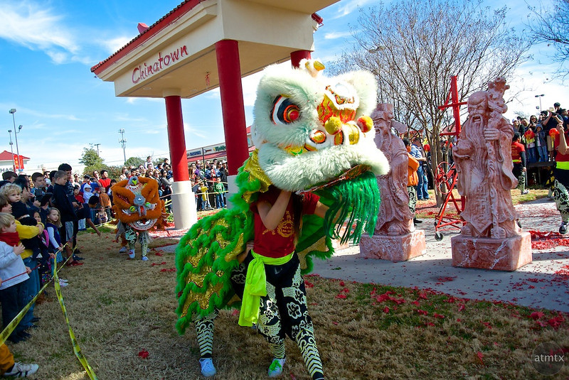 Lion Dance #4, 2014 Chinese New Year Celebration - Austin, Texas