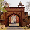 Entry Arch, Fatehpur Sikri - Agra, India