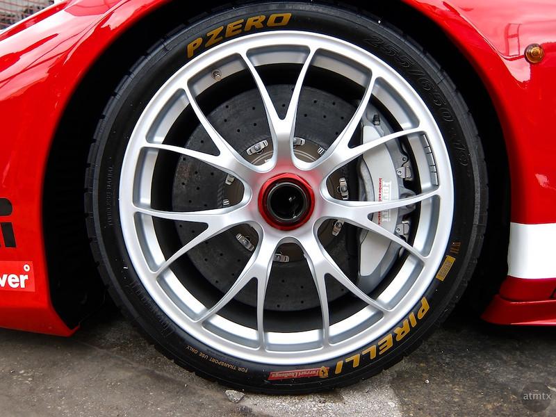 Ferrari Wheel,  Austin Fan Fest, Austin, Texas