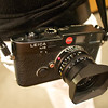 Jacquelyn's Leica M6, Peter Turnley Lecture - Austin, Texas
