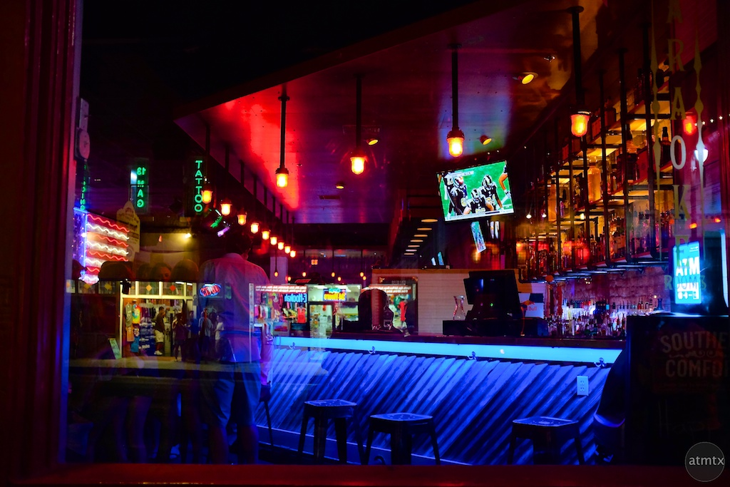 Bar Colors, 6th Street - Austin, Texas