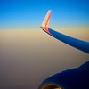 Engine and Wing, Southwest Airlines - Somewhere Over Texas