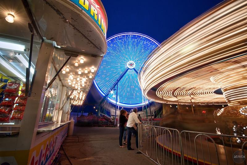 Carnival Rides, Rodeo Austin - Austin, Texas