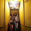 Michelle and 8, Doorway on 6th Street - Austin, Texas