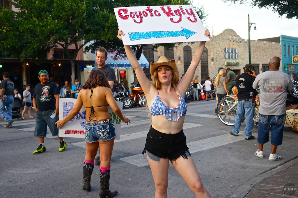 Coyote Ugly Promo, 2014 ROT Rally - Austin, Texas