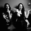 Silly Expressions, Natasha and Marisa at Drink and Click - Austin, Texas