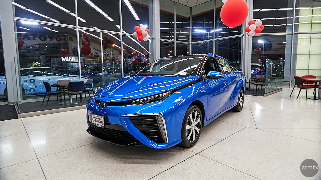 Toyota Mirai Atmtx Photo Blog - San jose car show 2018