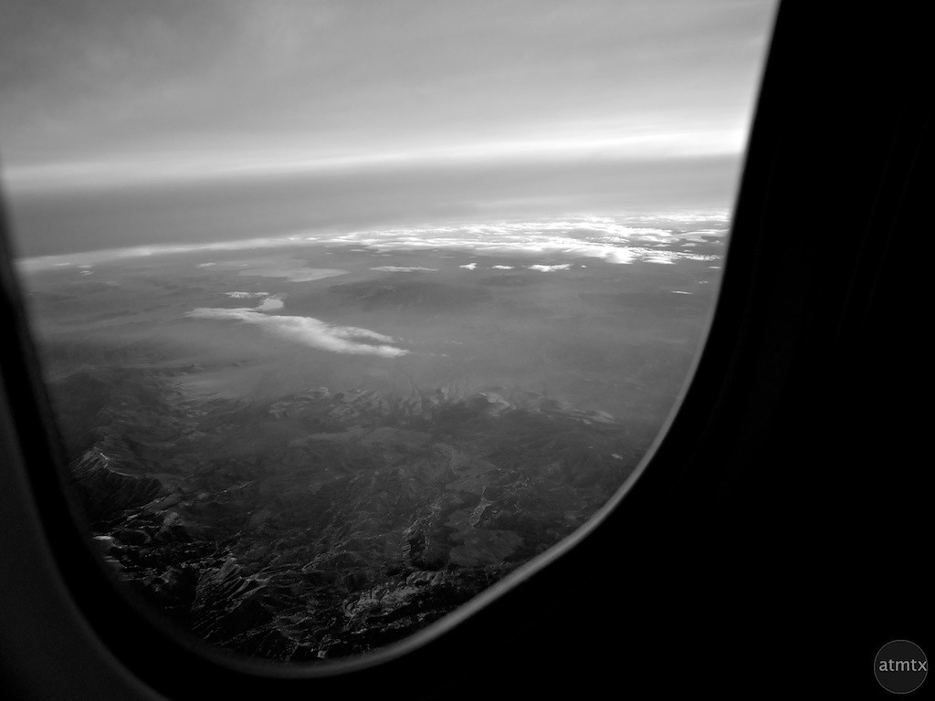 Over the American West