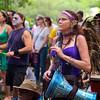 Drumming Elf, Eeyore's Birthday Party - Austin, Texas
