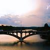 Lamar Bridge Silhouette - Austin, Texas