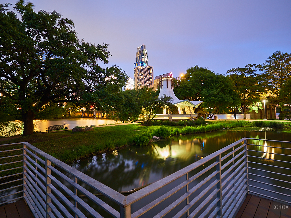 Pavilion, Auditorium Shores - Austin, Texas