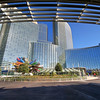 Aria Resort Viewed from Vdara, City Center - Las Vegas, Nevada