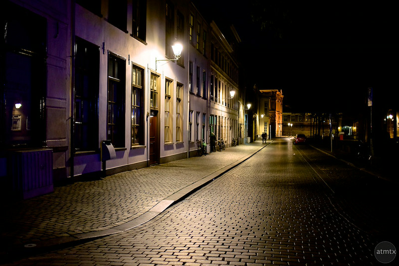 Old World Night Scene - Breda, Netherlands