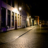 Old World Night Scene - Breda, Netherlands