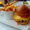 Burger at No Va, Rainey Street - Austin, Texas