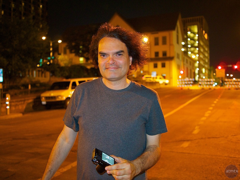 Tony, 6th Street Portrait - Austin, Texas