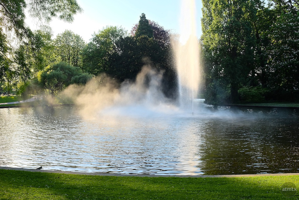 Fountain and Mist, Park Valkenberg - Breda, Netherlands