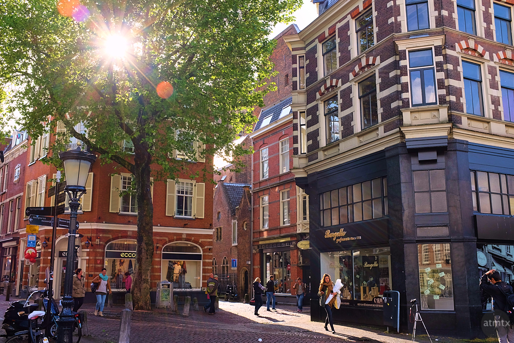 A Sunburst in Downtown Utrecht - Utrecht, Netherlands