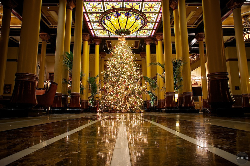 2011 Driskill Christmas Tree - Austin, Texas
