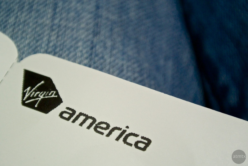 Boarding Pass - Virgin America