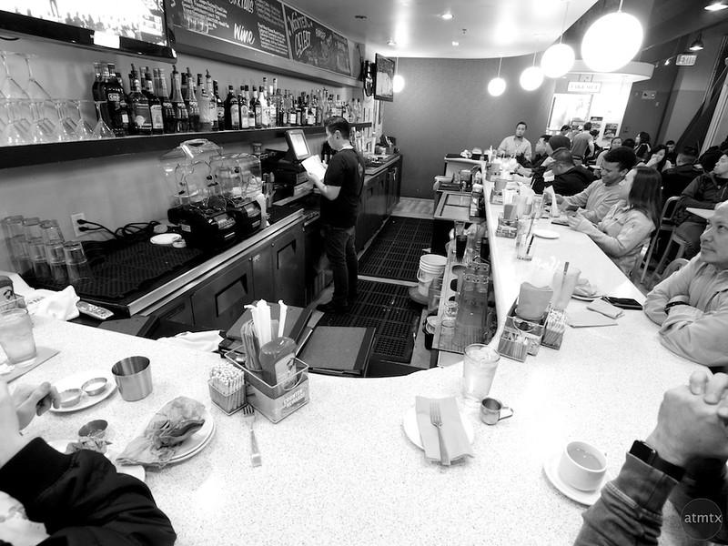 The counter at The Counter, Santana Row - San Jose, California