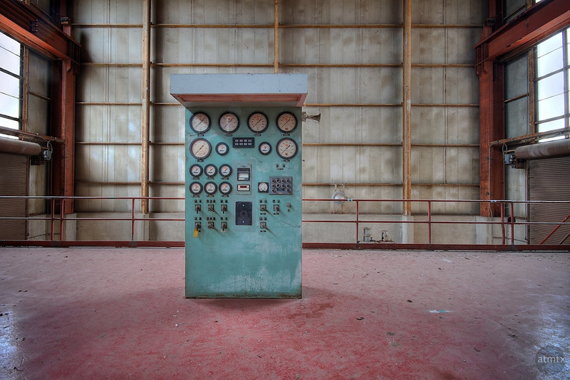 Holly Power Plant, Control Panel - Austin, Texas